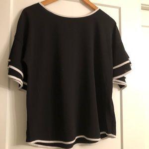 Spense frill bell sleeve blouse